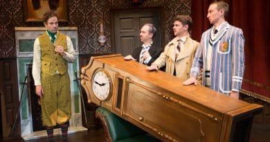 The Play That Goes Wrong. Luke Joslin, George Kemp, Nick Simpson Deeks, James Marlowe