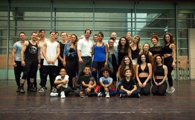 The cast of The Bodyguard | Photo by David Hooley Photography.