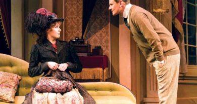 Anna O'Byrne and Charles Edwards in My Fair Lady. Photo by Brian Geach