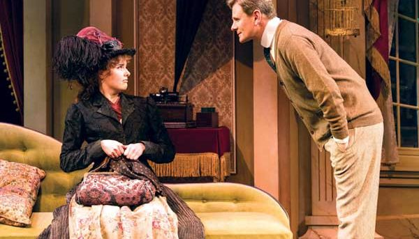 Anna O'Byrne and Charles Edwards in My Fair Lady. Photo by Brian Geach