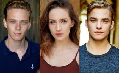 'Coffee With' continues with WAAPA graduates Stephanie Wall, Jens Radda and Matthew Manahan