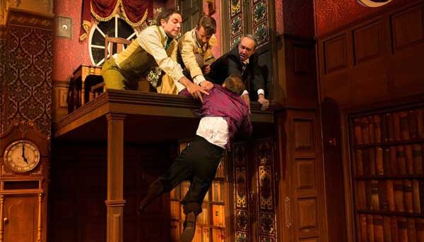 The Play That Goes Wrong. Image by Jeff Busby.