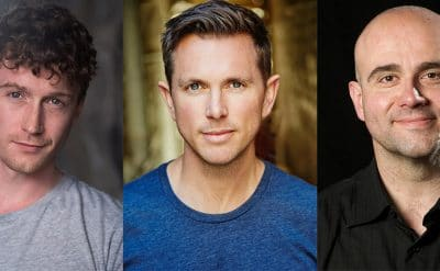 Eli Cooper to play the Scarecrow, Alex Rathgeber the Tin Man and John Xintavelonis the Lion in The Wizard of Oz