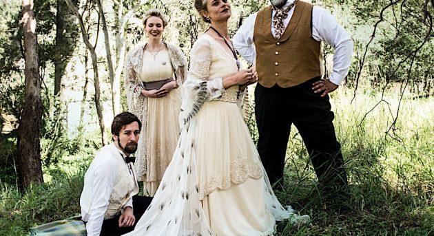 Nelson Gardner, Carina Waye, Nadine Garner and Eddie Muliamaseali'i will star in A Little Night Music. Image by Jodie Hutchinson