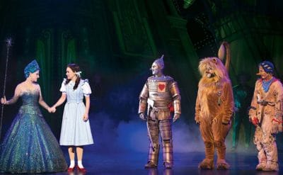 Wizard of Oz - QPAC. Photography by Jeff Busby.