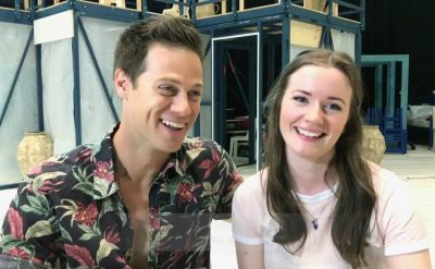 Video: Stephen Mahy & Sarah Morrison from Mamma Mia!
