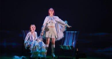 Maggie McKenna and Sydney Theatre Award Winner Madeleine Jones in Muriel's Wedding. Image by Lisa Tomasetti