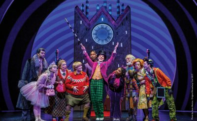 Charlie and the Chocolate Factory. Photo by Joan Marcus. Original Broadway Cast 2017.