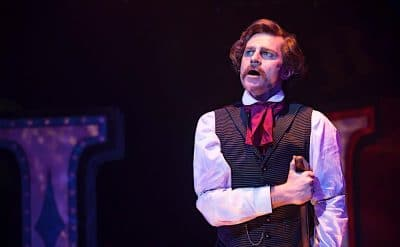 David Campbell in Assassins at Hayes Theatre Co
