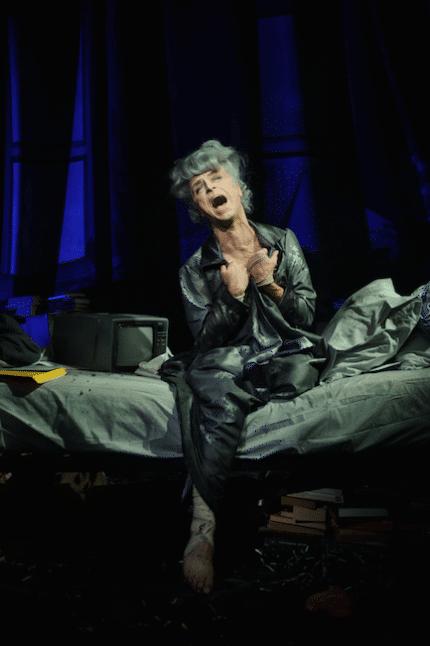Paul Capsis as Quentin Crisp in Resident Alien photo by Sarah Walker