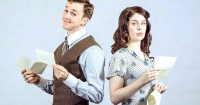 Rowan Witt & Caitlin Berry star in She Loves Me at Hayes Theatre Co
