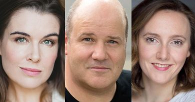 Pippa Grandison as Deidre Chambers, David James as Bill Heslop and Manon Gunderson-Briggs as Joanie Heslop.