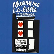 Image result for marry me a little