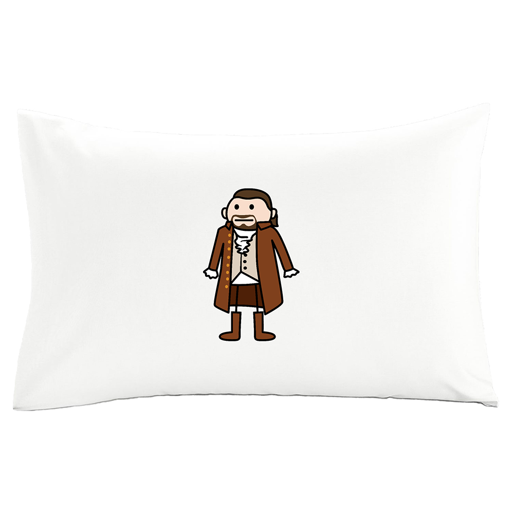 Hamilton White Display Pillow Case