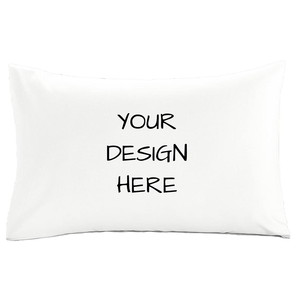White Display Pillow Case