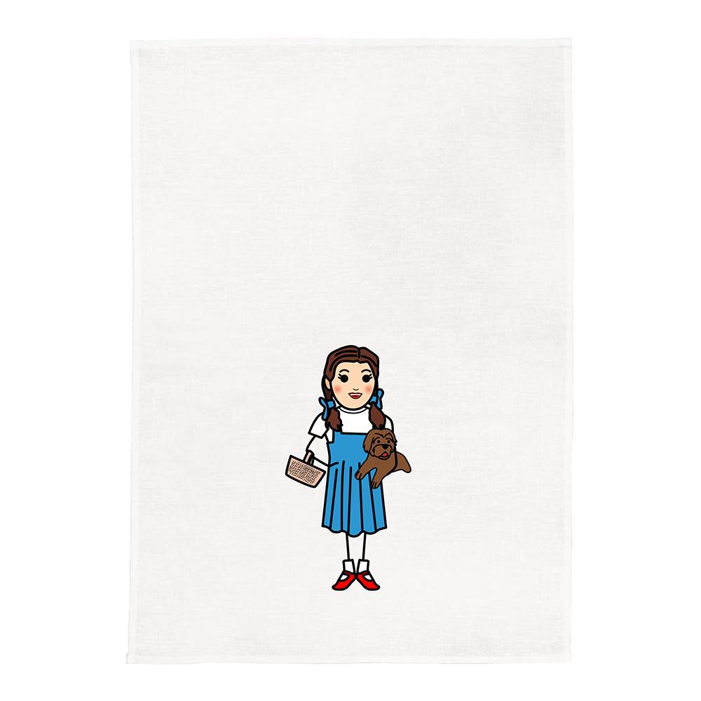 Dorothy White Kitchen Tea Towel
