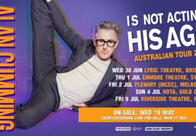 ALAN CUMMING IS NOT ACTING HIS AGE: Golden Globe & Emmy nominated star touring June/July