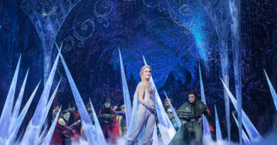FROZEN THE MUSICAL prepares for Melbourne's chilly winter!