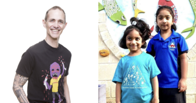 StoryKids latest episode read by Andy Griffiths and written by six year old Kopika Murugappan from Biloela