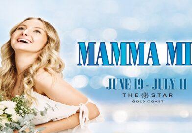 MAMMA MIA! cast in rehearsals